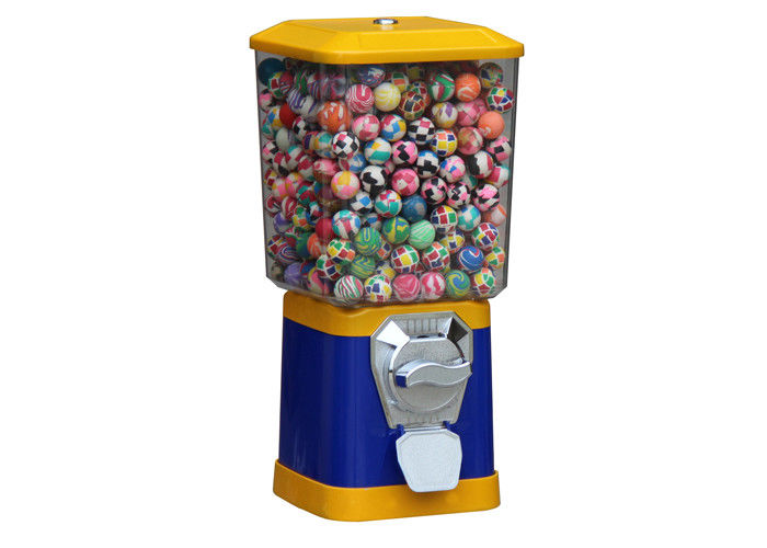 peanut candy gumball capsule vending machine 6 coins 45CM metal blue 1.4 inch