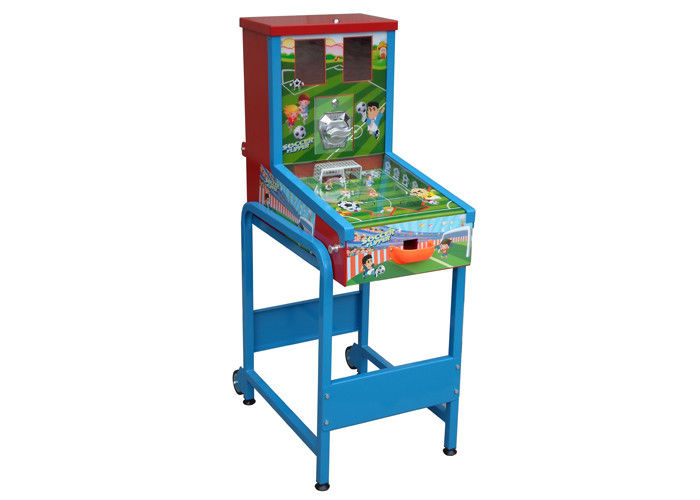 Coin Operated Soccer Foosball Table High Durability For Kids Environment
